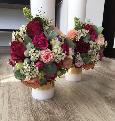 lumanare nunta colorata