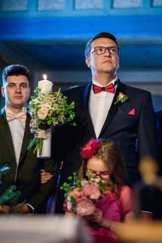 lumanare nunta verde